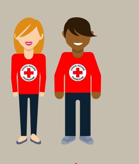 Campagne de la Croix-Rouge française à Tacoignières
