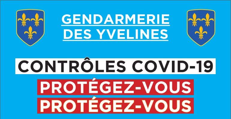 Contrôles de la gendarmerie et Covid-19