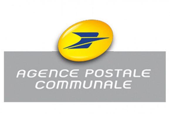 MODIFICATION DES HORAIRES DE L'AGENCE POSTALE COMMUNALE