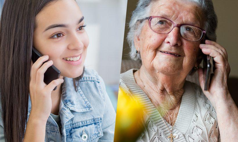 Un job d'été auprès des personnes âgées